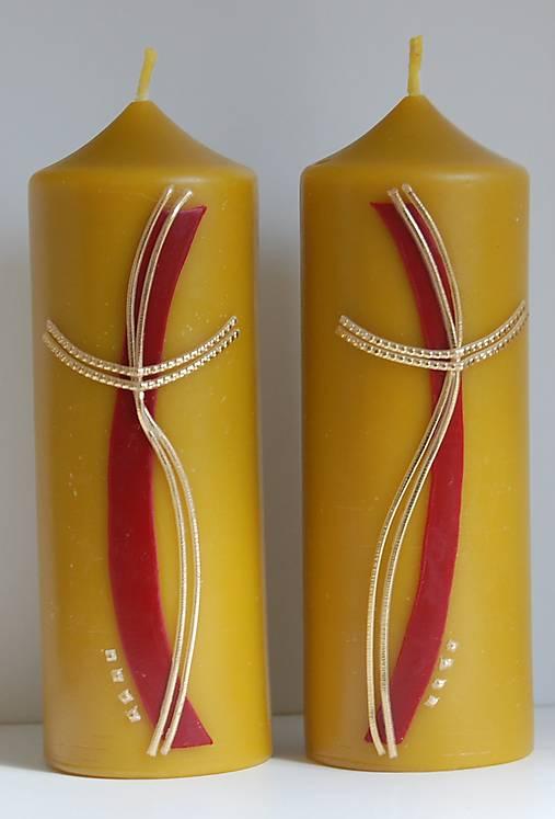 Oltárna sviečka z včelieho vosku 3.