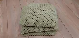 Úžitkový textil - Háčkovaná deka - 11506898_