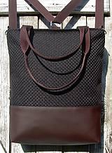 Batohy - backpack 3in1-  rustic brown - Batoh & taška cez rameno - 11507678_