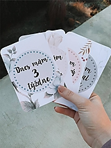 Mílnikové kartičky kvietkové