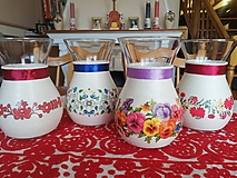 Dekorácie - Váza - kvety - 11509660_