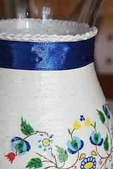 Dekorácie - Váza - kvety - 11509664_