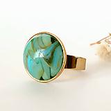 Prstene - zlatý prsteň - 11510512_