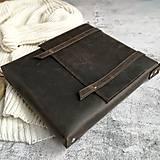 Kabelky - Big Hunter - kožená brašňa - 11510648_