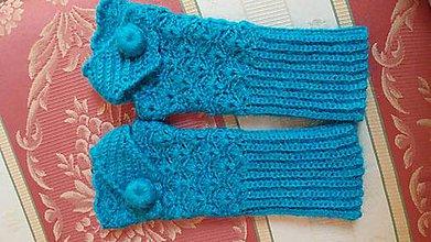 Rukavice - bezprstové rukavičky - 11509983_