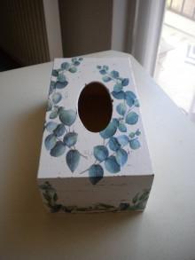 Dekorácie - Krabička na vreckovky - 11511208_