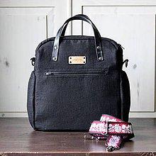 Veľké tašky - Veľká taška LUSIL bag 2in1 *Black* - 11509912_