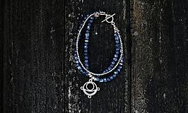 """Náramky - Náramok """"Blue"""" - 11512015_"""