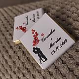 Darčeky pre svadobčanov - Svadobná čokoládka 1 - 11508946_