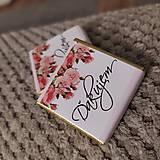 Darčeky pre svadobčanov - Svadobná čokoládka 3 - 11508955_