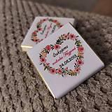 Darčeky pre svadobčanov - Svadobná čokoládka 4 - 11508956_