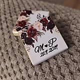 Darčeky pre svadobčanov - Svadobná čokoládka 5 - 11508969_