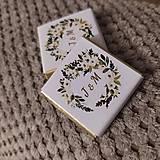 Darčeky pre svadobčanov - Svadobná čokoládka 6 - 11508970_