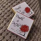 Darčeky pre svadobčanov - Svadobná čokoládka 7 - 11508971_
