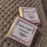 Darčeky pre svadobčanov - Svadobná čokoládka 8 - 11508972_