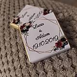 Darčeky pre svadobčanov - Svadobná čokoládka 11 - 11508975_