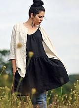 Košele - Košile lněná - Režná - 11510951_