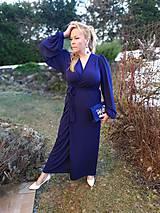 Šaty - Kráľovsky modré šaty - 11511042_