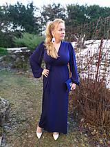 Šaty - Kráľovsky modré šaty - 11511043_