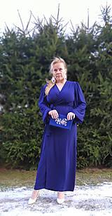 Šaty - Kráľovsky modré šaty - 11511046_