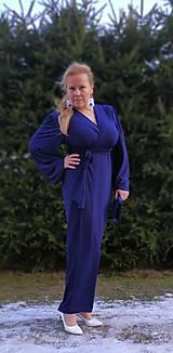 Šaty - Kráľovsky modré šaty - 11511047_