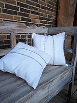 Úžitkový textil - Obliečka na vankúš Cottage Style II - 11511645_