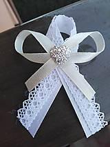 Pierka - Luxusné svadobné pierko - 11514643_