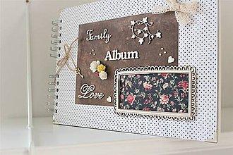 Papiernictvo - Rodinný fotoalbum / happy family - 11515278_