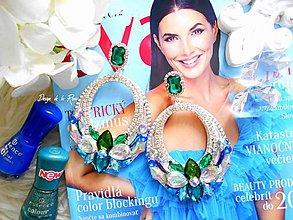 Náušnice - Princess - 11514885_