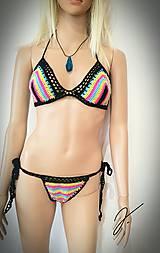 Bielizeň/Plavky - Háčkované plavky - 11512852_