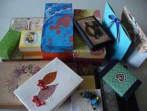 Krabičky - likvidácia zásob (50 ks krabičiek) - 11513509_