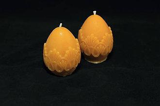 Svietidlá a sviečky - Veľkonočné vajíčko 6cm - 11512611_