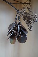 Náušnice perleťové dukátiky