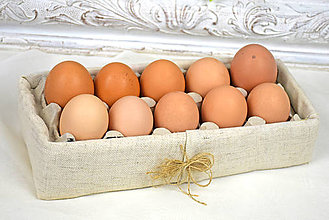Košíky - Krabička na vajíčka - 11513538_