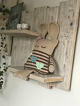 Detské doplnky - Zajko poľný spinkáčik - 11518621_