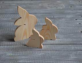 Polotovary - veľkonočný králik malý - 11517871_