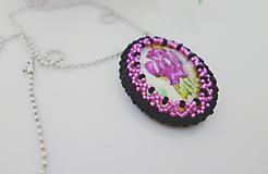 Náhrdelníky - Vintage náhrdelník - 11516219_