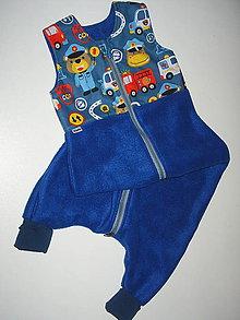 Textil - spací vak - overalik - 11517487_