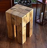 Nábytok - Drevená stolička - 11519229_