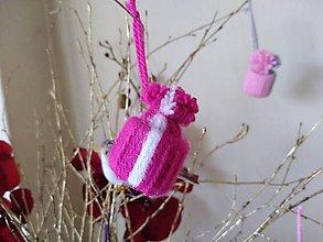 Dekorácie - Zimné čiapočky - 11521923_