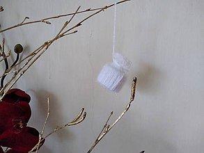Dekorácie - Zimné čiapočky - 11521946_