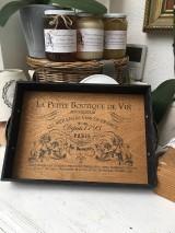 "Nádoby - Tácka "" La Petite Boutique De Vín "" - 11521342_"