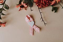 Pierka - Ružová romantika (Pierko pre svadobných hostí) - 11521642_