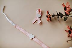 Pierka - Ružová romantika - 11521653_