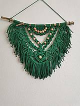 Dekorácie - Indiánske makramé - 11519623_