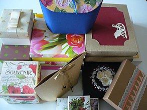 Krabičky - likvidácia zásob (50 ks krabičiek) - 11521553_