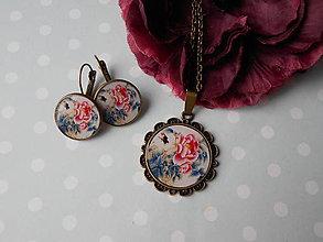Sady šperkov - Tajomná ruža - 11522657_