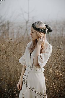Ozdoby do vlasov - Venček Eukalyptus - 11521840_
