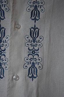 Košele - Ľanová košeľa - Adam - 11522305_