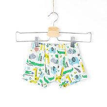 Detské oblečenie - Chlapčenské boxerky - džungľa - 11522876_